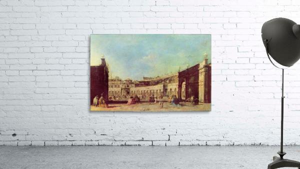 Piazza San Marco a Venezia, dal lato opposto alla basilica