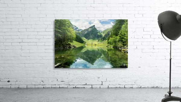 Tranquil scene of seealpsee lake