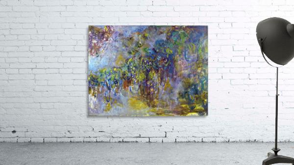 Wisteria -2- by Monet