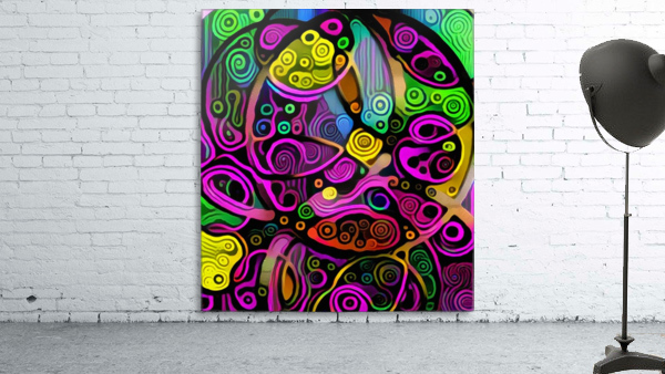 Colorful Abstract Ornament