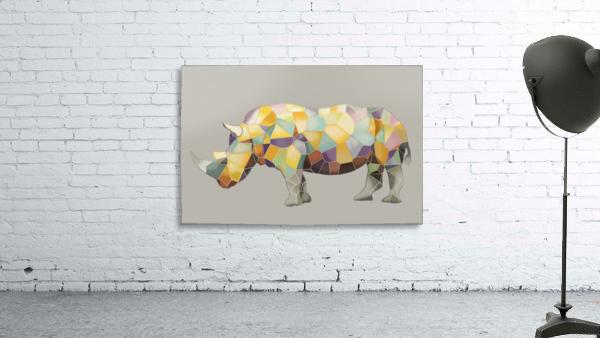 Rhino Mosaic