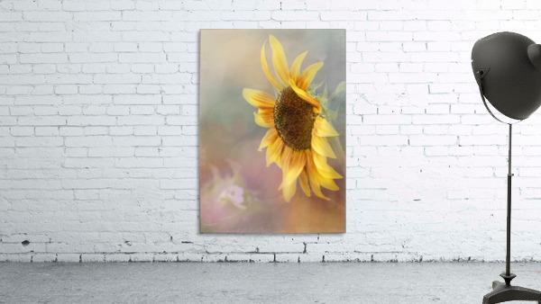 Be The Sunflower - Sunflower Art by Jordan Blackstone