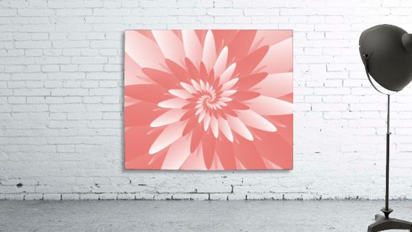 Spiral Flower Pattern Art