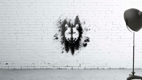 Absract Wolf