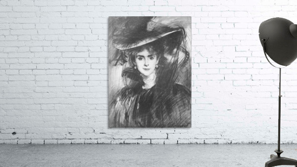Baroness de Meyer by John Singer Sargent