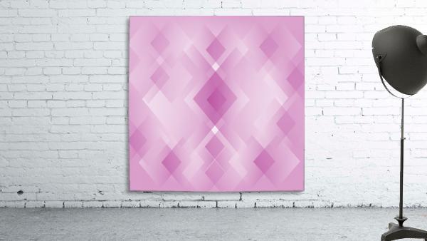 Diamond Shape Pink Art