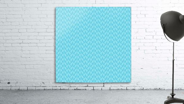 Blue Leaf pattern Art