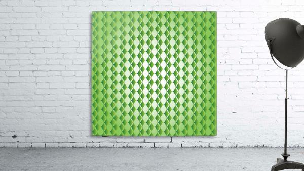 Islamic Art Green Color Artwork