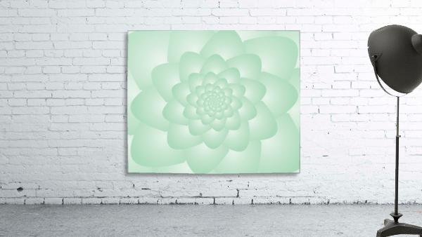 Pastel Green Art