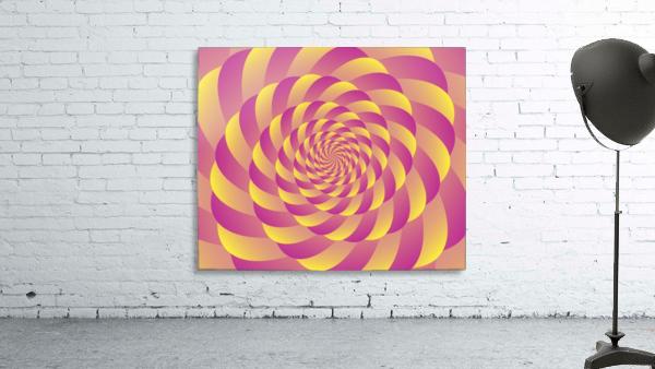Lollipop Swirl Art