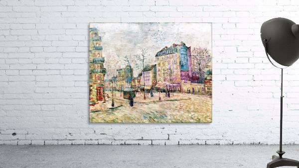Boulevard de Clichy by Van Gogh