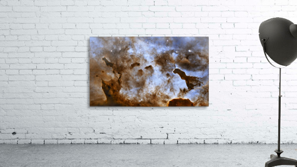 Carina Nebula Star-Forming Pillars.