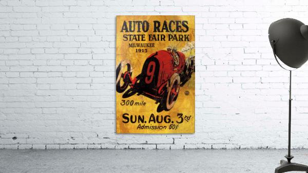 Milwaukee 300 Mile Auto Races State Fair Park 1913
