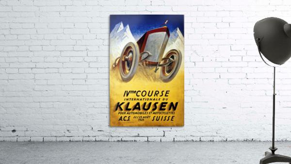 Klausen Suisse Ivme Course Internationale Acs 1925