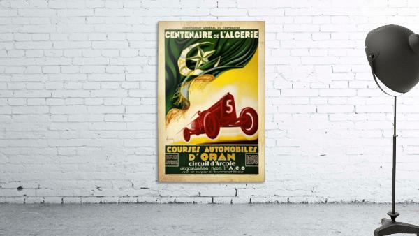 Centenaire L'Algerie Courses Automobiles D'Oran 1930