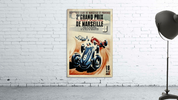 Marseille 2nd Grand Prix Automobile International 1947
