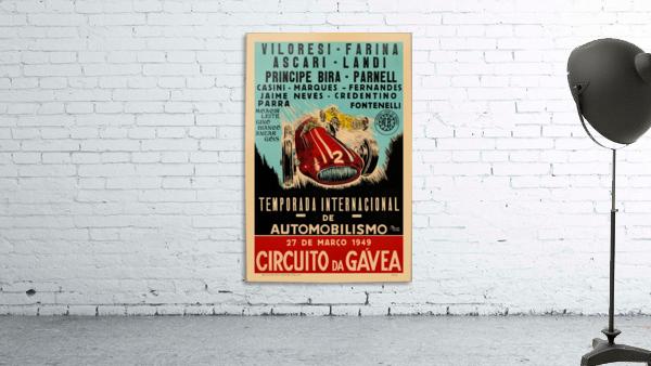 Gavea Circuit Circuito Gavea 1949 Temporada Internacional De Automobilisimo 1949