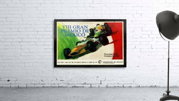 Mexico Grand Prix VII Gran Premio De Mexico 1969