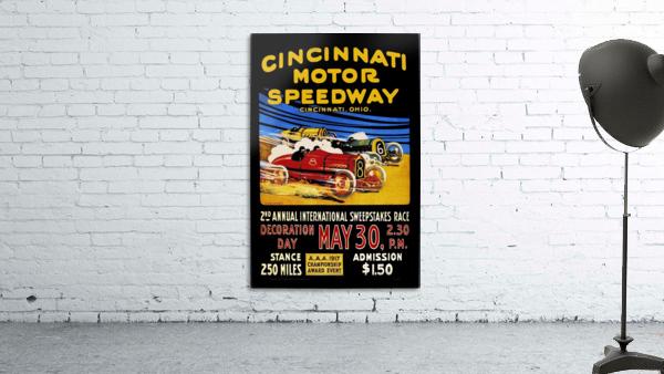 CincIInnati Motor Speedway 2nd Annual International Sweepstakes Race 1917