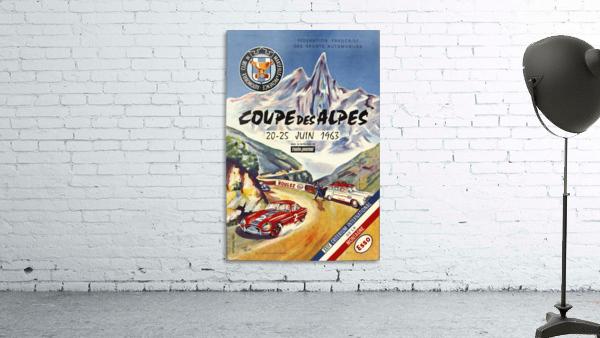 Coupe Des Alpes Federation Francaise Des Sports Automobiles 1963