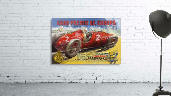 Gran Premio De Europa VII Espana XII Pena Rin IX Barcelona 1953