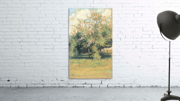 Blooming Trees by Hassam