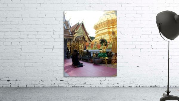 Praying at Doi Suthep