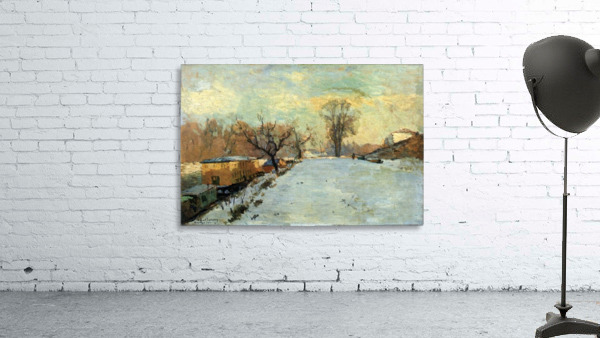 The Seine in Winter
