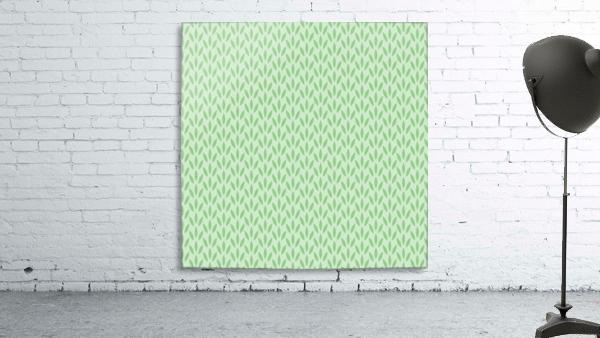 Green Flower Seamless Pattern Background