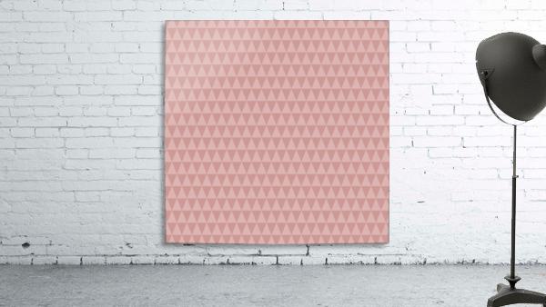 ORANGE Triangle Shape Seamless Pattern Background