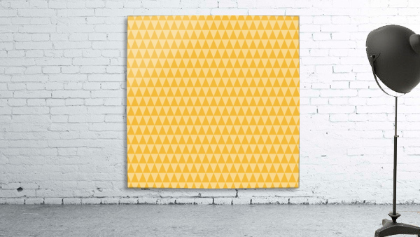 YELLOW Triangle Shape Seamless Pattern Background