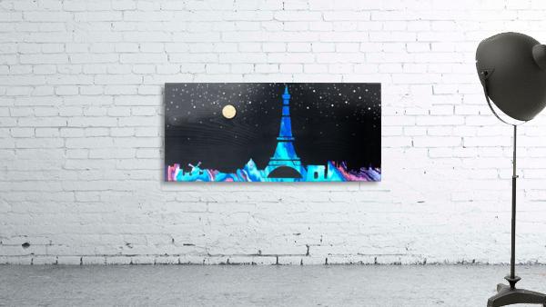 I love Paris on Wood 2