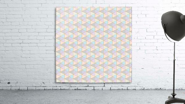 Hexagon Color Art Pattern