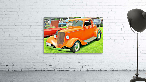 hot rod classic car