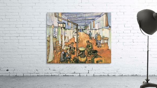 Dormitory in the Hospital in Arles by Van Gogh