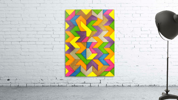 Patterned Lines of Color