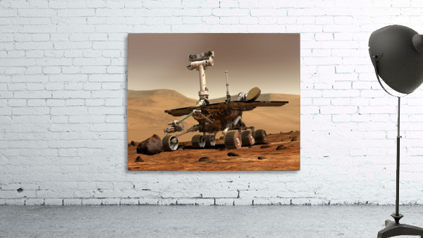 Artists Rendition of Mars Rover.