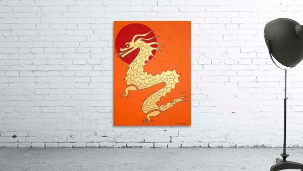 Asian Dragon Icon No.1