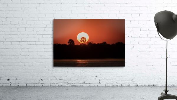 Sunset of Zimbabwe