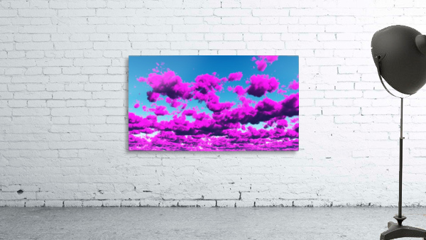 Vivid Purple Cloudscape