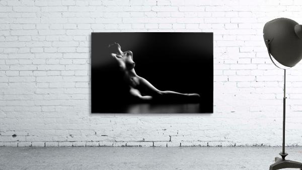 Nude woman bodyscape