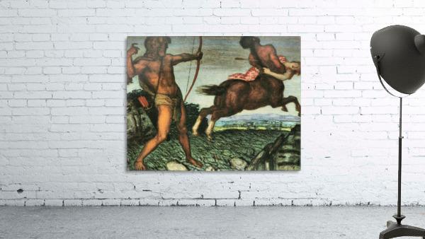 Hercules and Nessus by Franz von Stuck
