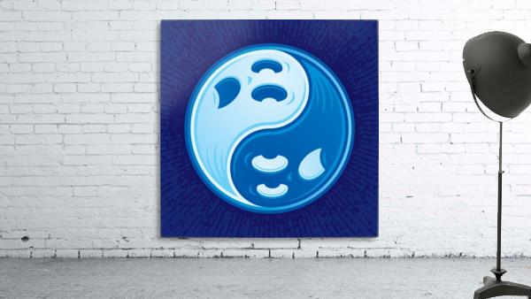 Ghost Yin Yang Symbol