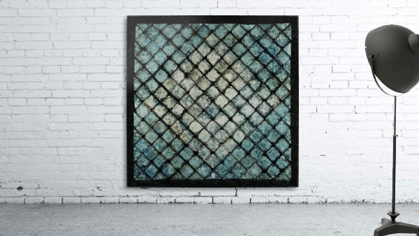Les bleus vitraux -  Contemporary Art