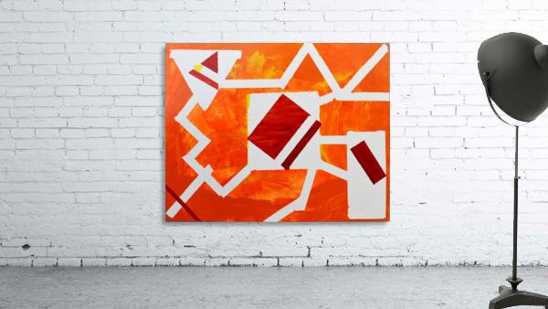 Geometric Orange. Jessica B