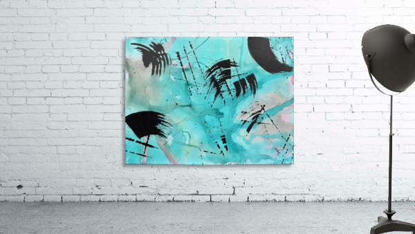 Abstract Watercolor. Geoffory E
