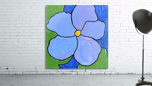Purple Flower. Jessica A