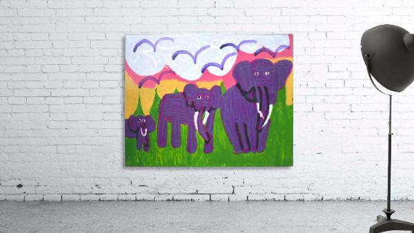 Purple Elephants. Michael D.