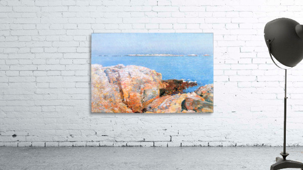 Duck island by Hassam