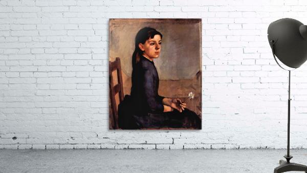 Louise-Delphine Duchosal by Ferdinand Hodler